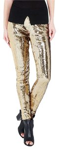 sass & bide Party Holiday Skinny Pants GOLD