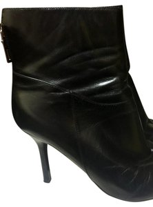 Marc Fisher Leather Black Boots