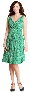 Lands' End short dress Green Fit And Flare on Tradesy