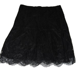 Burberry Skirt Black and Gold