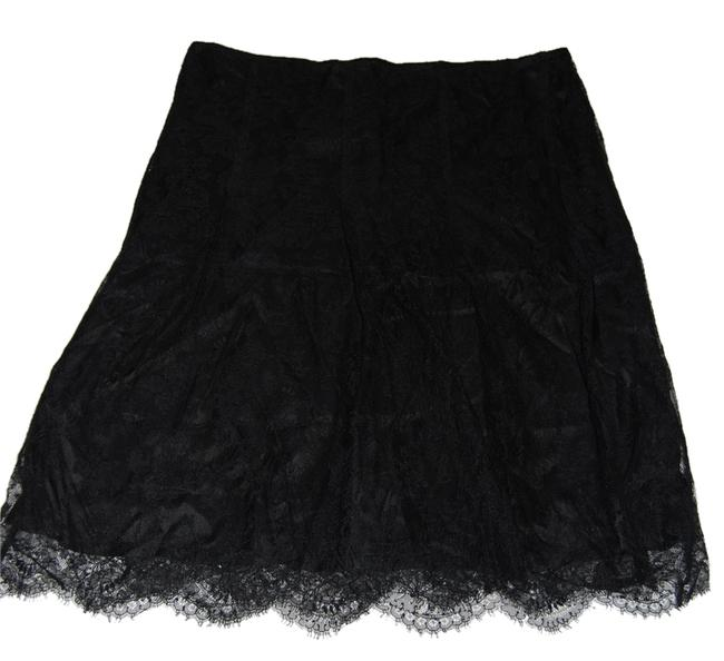 Item - Black and Gold Wrap Overlay Skirt Size 12 (L, 32, 33)