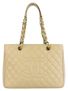 Chanel Grand Shopping Tote in Nude