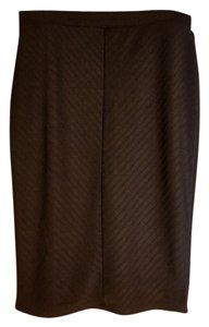 Apt. 9 Office Sexy Fitted Classic Detail Skirt black