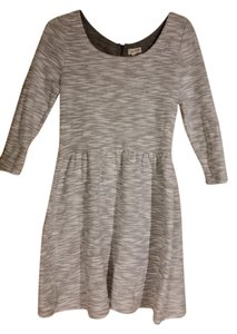 Maison Jules short dress White, Grey, rose gold Holiday Party Detail on Tradesy