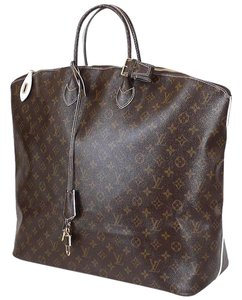 Louis Vuitton Lv Luggage Lv Voyage Rare Lv Limited Edition Brown Travel Bag