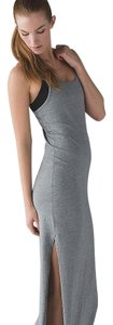 Heathered Medium Grey Maxi Dress by Lululemon Maxi Nike Under Armour Yoga
