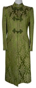 Valentino Satin Brocade Coat