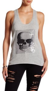360 Sweater Skull Cashmere Cashmere Top Heather Grey