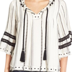 Tularosa Top White, black