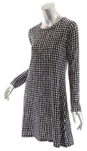 Samantha Sung short dress Black & White Houndstooth A Line Sweater on Tradesy