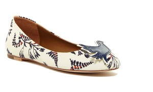 Tory Burch Blue/Ivory Flats