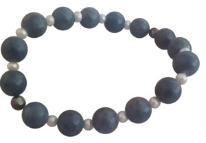 Other Blue lapis and pearl bracelet