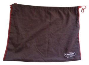 Coach 19x15 BROWN Dust Cover Protection for bag shoes
