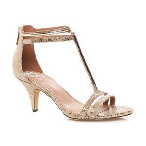 Vince Camuto Metallic Taupe Pumps