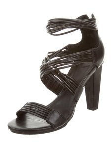 Diane von Furstenberg Strappy Black Sandals