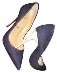 Christian Louboutin Denim Pumps