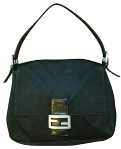 Fendi Vintage Italy Nylon Shoulder Bag