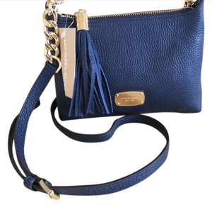 Michael Kors Bedford Pebbled Leather 35h5gbfc3l Cross Body Bag