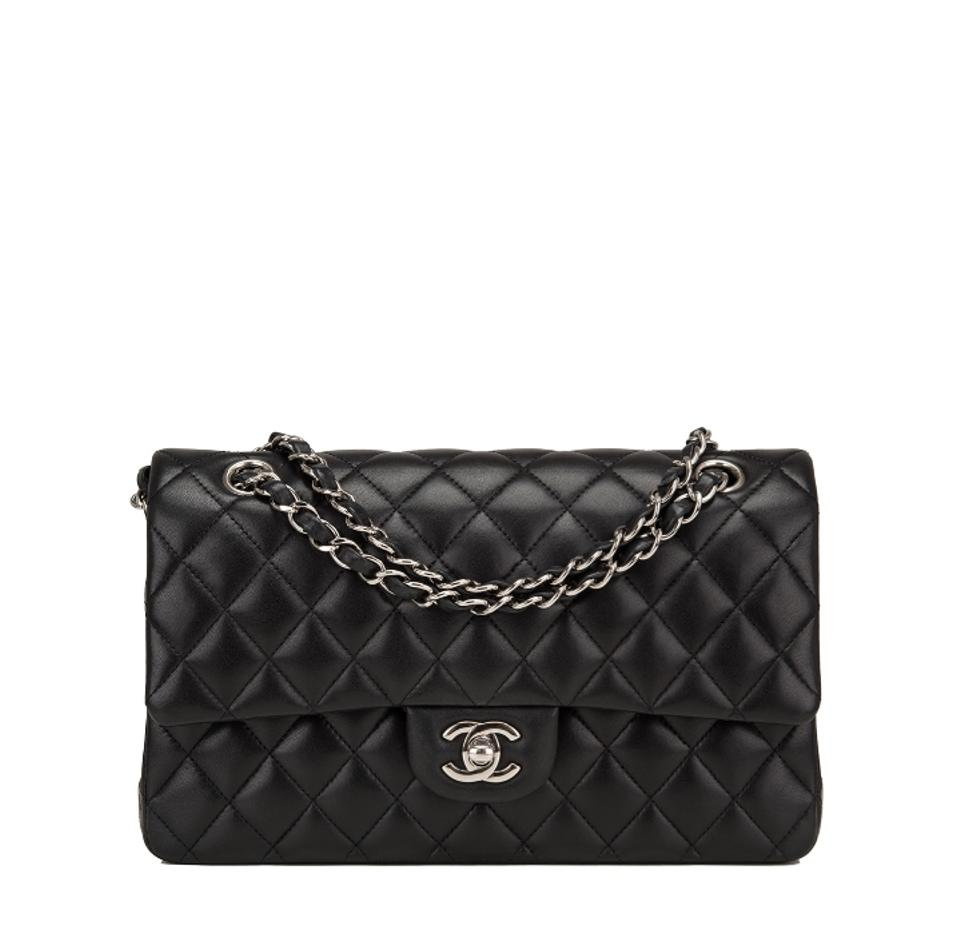ef1854ba9a985a Chanel Classic Flap Classic Medium with Receipt Full Set Black ...