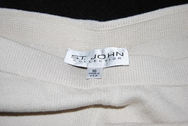 St. John Straight Pants Ivory