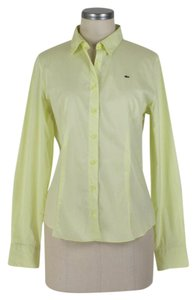 Lacoste Button Down Shirt yellow