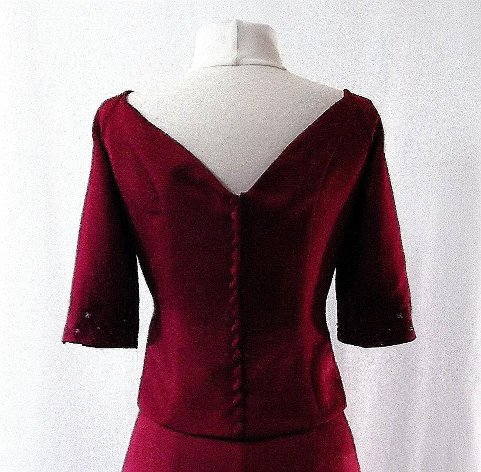 Venus Bridal Burgundy Style X023 Dress On Sale, 73% Off