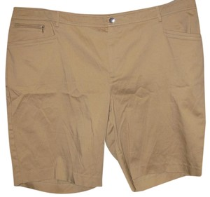 Lauren Ralph Lauren Plus-size Casual Dress Shorts Khaki