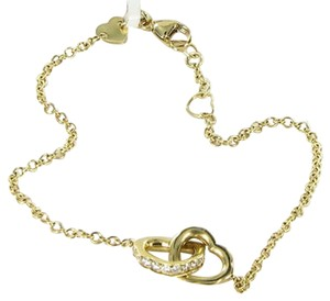Hearts on Fire Hearts On Fire Lorelei Heart Diamond 0.24cts 18k Yell Gold Link Bracelet