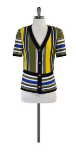 Stizzoli Multi Color Striped Cardigan