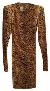 Norma Kamali Cheetah Vintage Dress