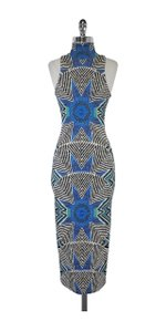 Maxi Dress by Mara Hoffman Multi Color Geo Print