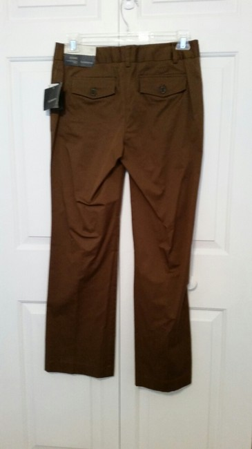 Liz Claiborne Stretch Boot Cut Pants Chocolate Brown