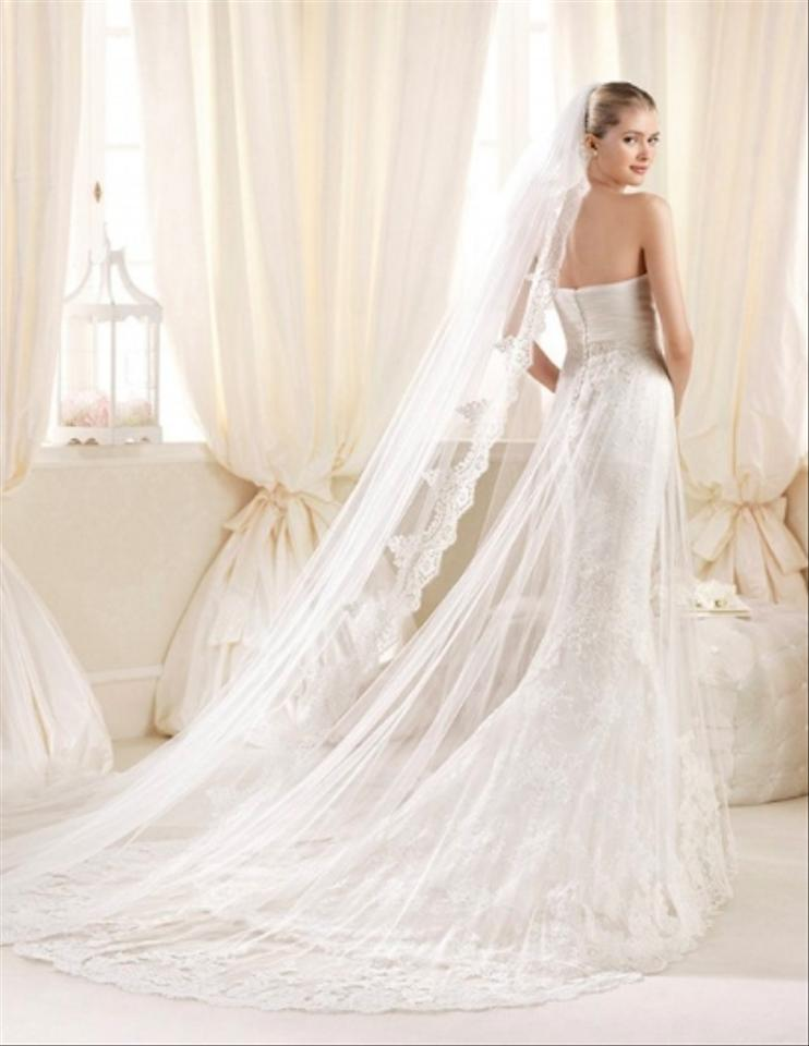 Pronovias shades of white shades of ivory la sposa denia for Wedding dress shades of white