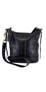 Coach Black Leather Purse Cross Body Bag
