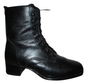Blondo Leather Waterproof Granny black Boots