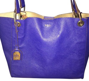 Lauren Ralph Lauren Tote in Navy Blue