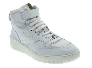 Valentino Camo Hi-top Sneaker Garavani White Athletic