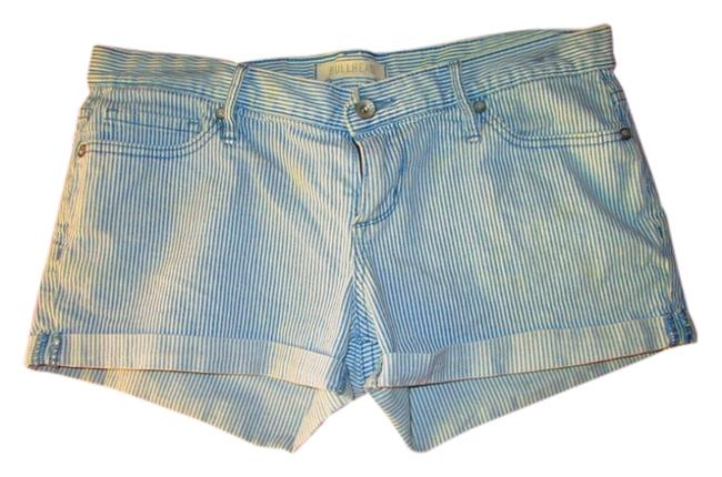 Bullhead Denim Co. Mini/Short Shorts blue/white strip