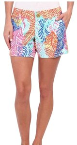 Lilly Pulitzer Mini/Short Shorts Blue, Pink, Yellow, Orange, Green, White