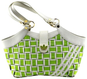 adidas Satchel in Green, White
