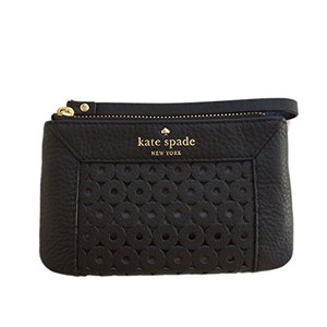 Kate Spade Mercer Isle Bee Wristlet in Black
