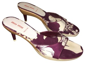 Miu Miu Plum Pumps
