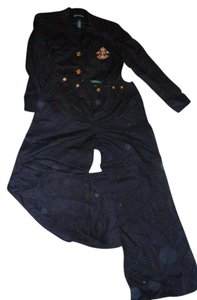 Lauren Ralph Lauren Lauren Ralph black Navy Nautical Pants Suit