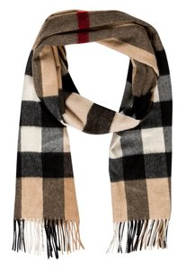 Burberry Beige, black multicolor Burberry Nova Check print Scarf