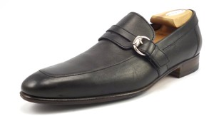 Gucci Men's Leather Strap & Buckle Loafers