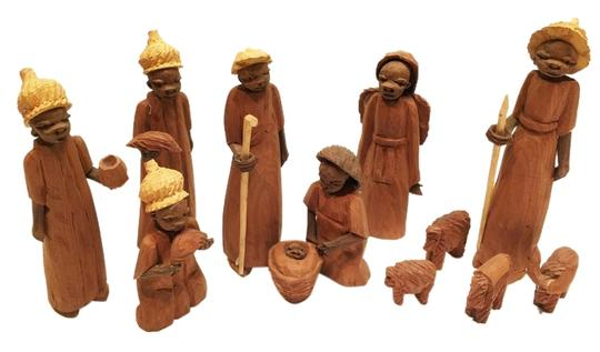 Preload https://item4.tradesy.com/images/other-african-carved-nativity-sistersoul-closet-2025038-0-3.jpg?width=440&height=440