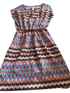 Just be short dress Multi #dress #aztec Print on Tradesy