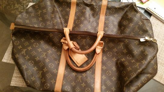 Louis Vuitton Tote in Classic Brown Monogram