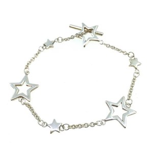 Tiffany & Co. Sterling Silver Star Toggle Bracelet