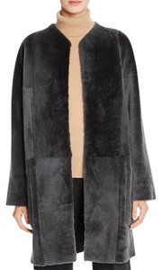 Vince Shearling 70's Mod Reversible Fur Coat